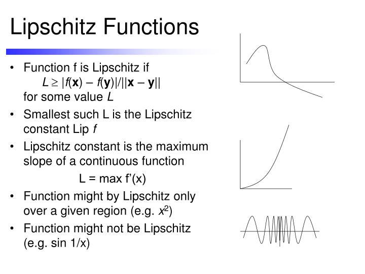 Lipschitz Functions
