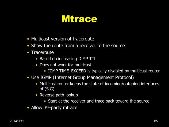 Mtrace
