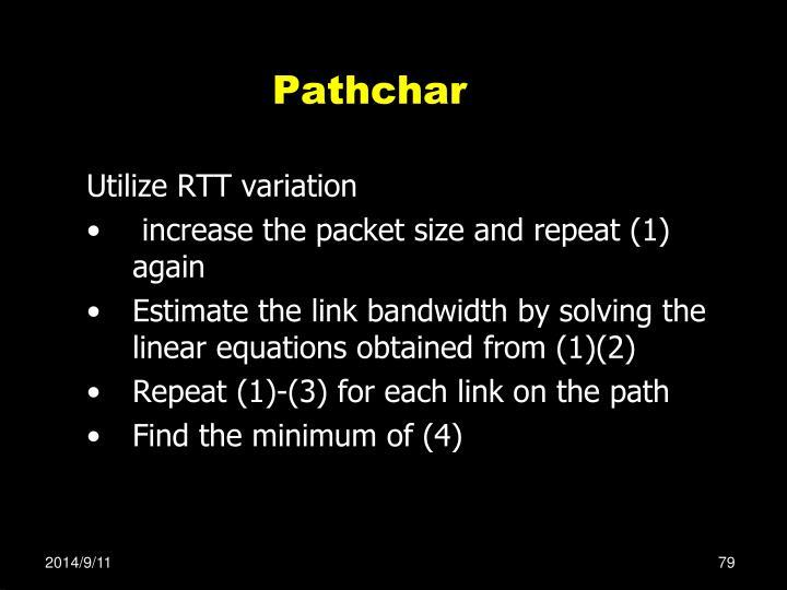 Pathchar