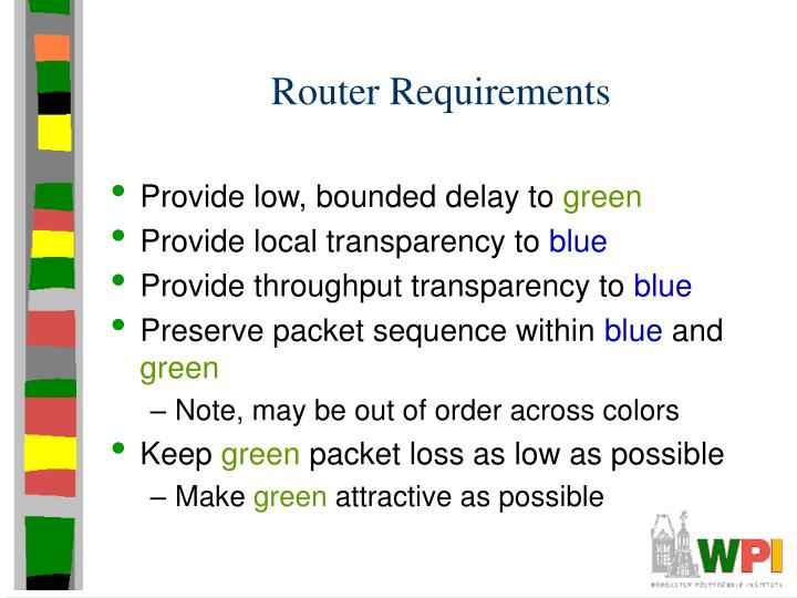 Router Requirements