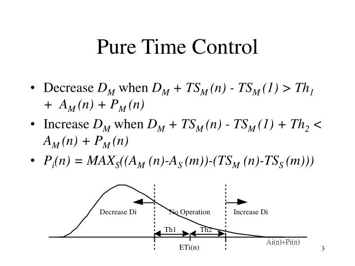 Pure Time Control