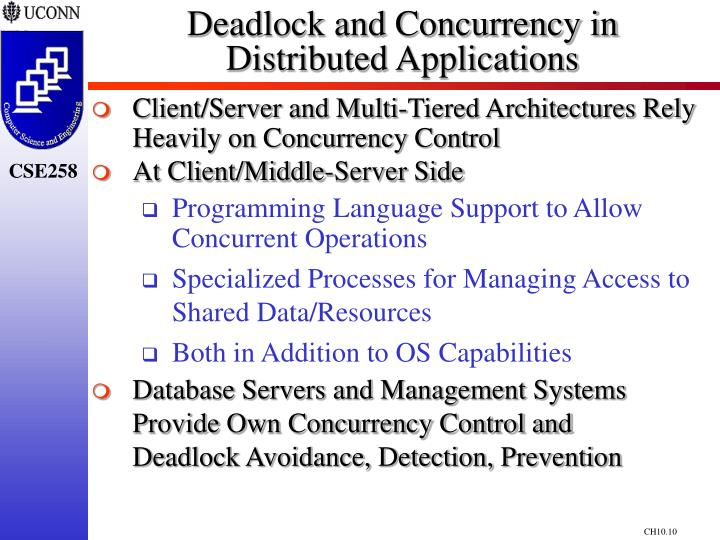 Deadlock and Concurrency in