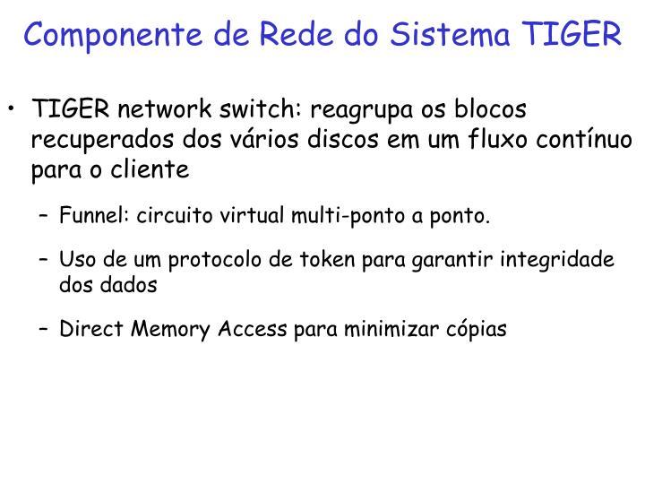 Componente de Rede do Sistema TIGER