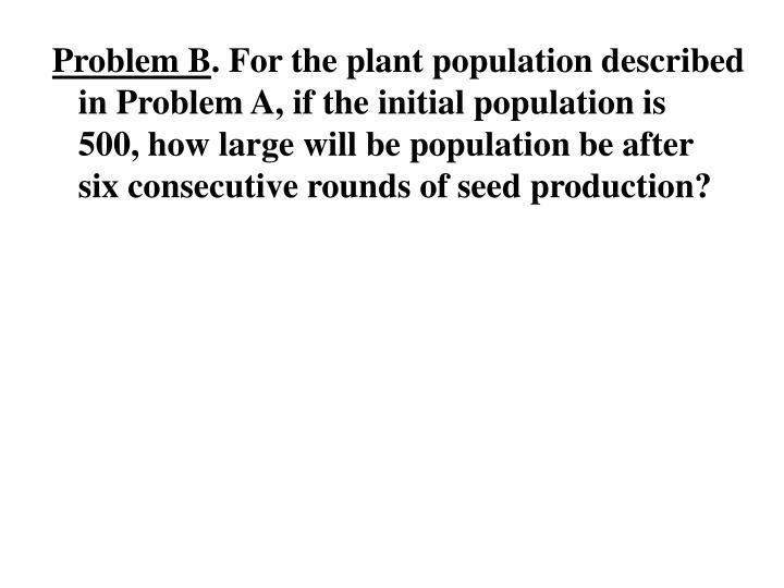 Problem B