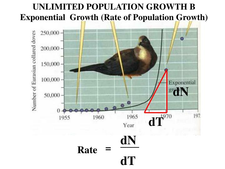 UNLIMITED POPULATION GROWTH B