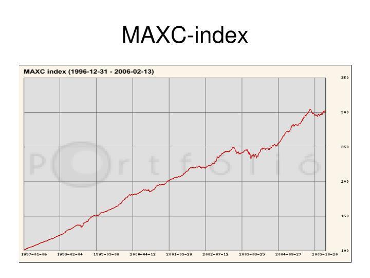MAXC-index