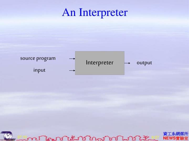 An Interpreter