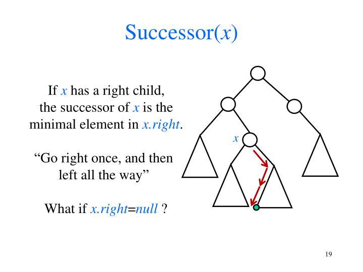 Successor(