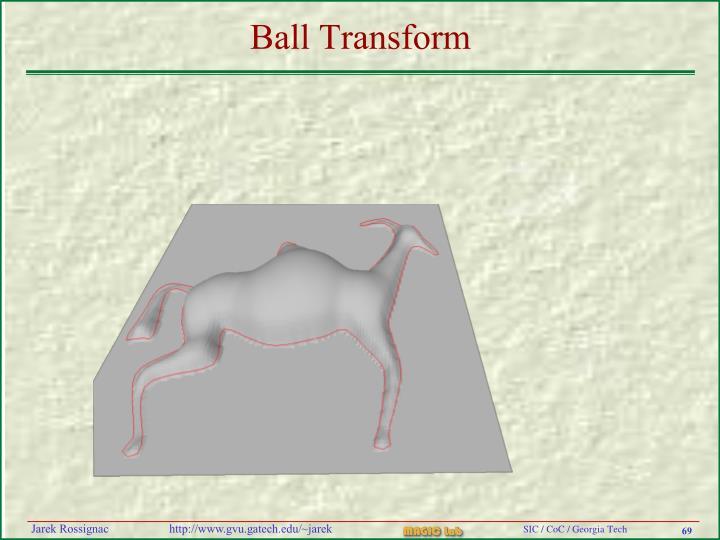 Ball Transform