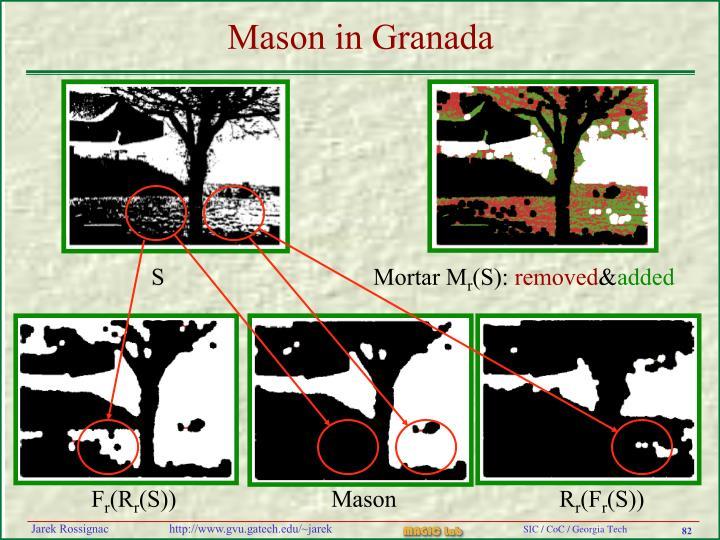 Mason in Granada