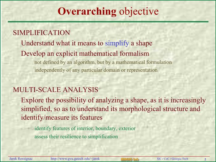 Overarching