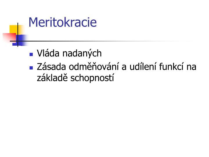 Meritokracie