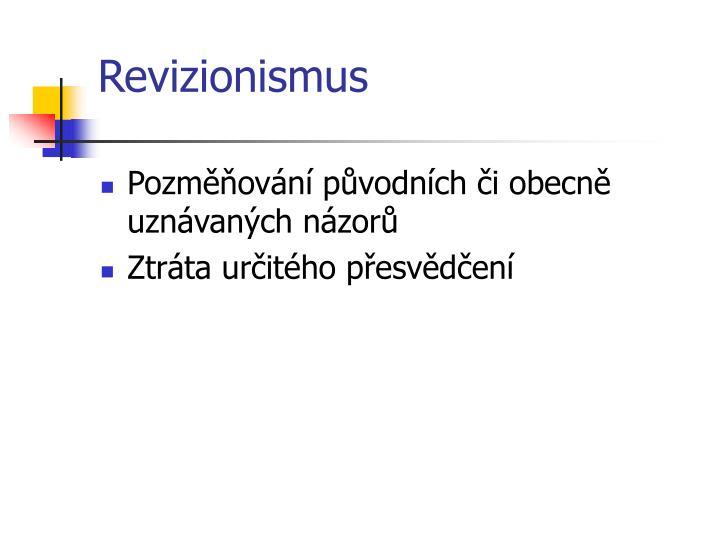 Revizionismus