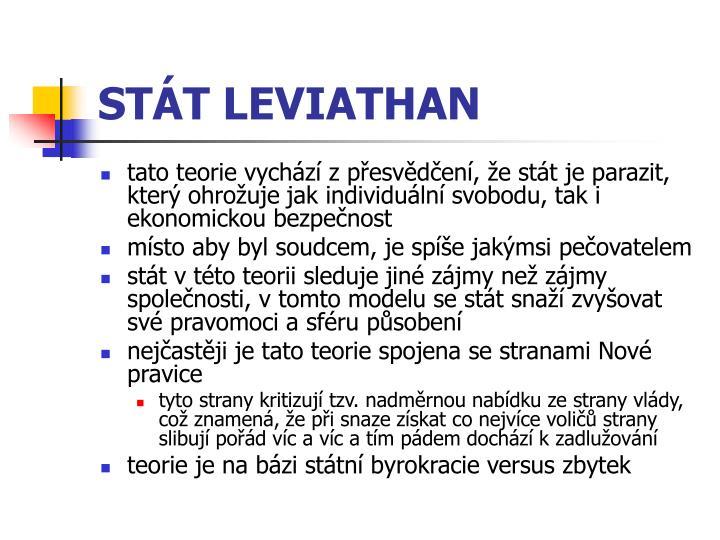 STÁT LEVIATHAN