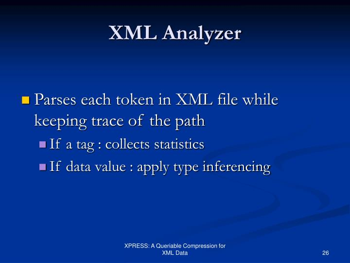 XML Analyzer