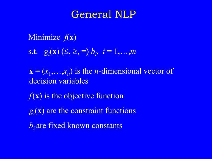 General NLP