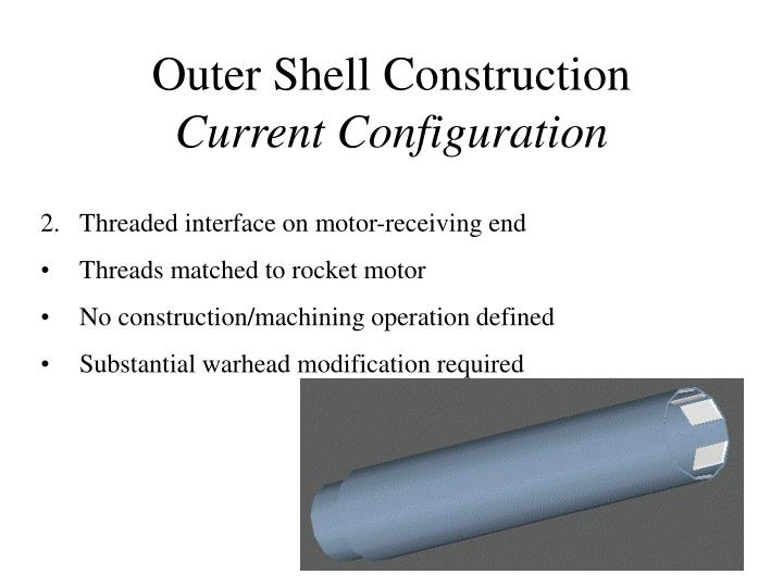 Outer Shell Construction