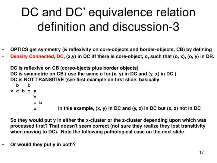 DC and DC' equivalence relation definition and discussion-3