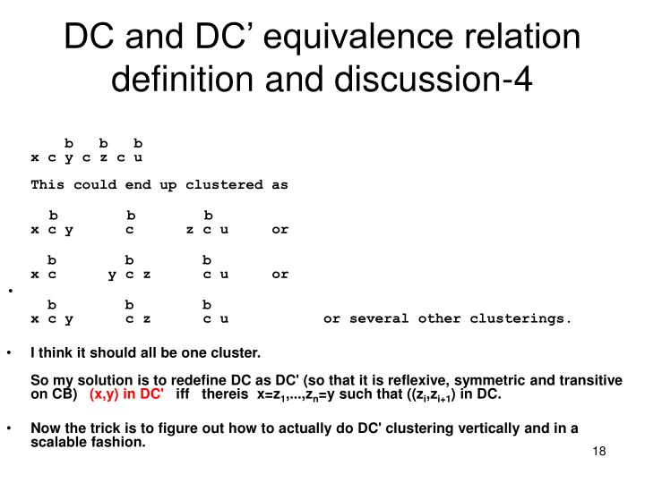 DC and DC' equivalence relation definition and discussion-4