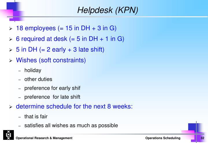 Helpdesk (KPN)