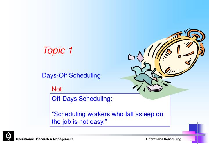Off-Days