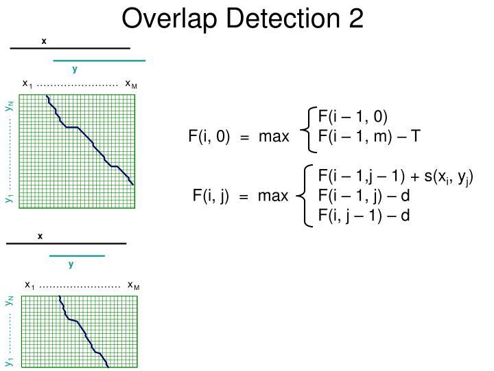 Overlap Detection 2