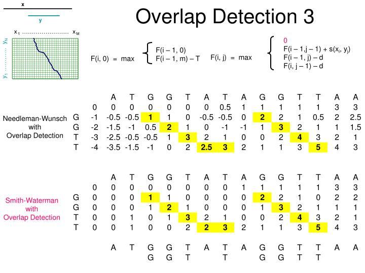 Overlap Detection 3