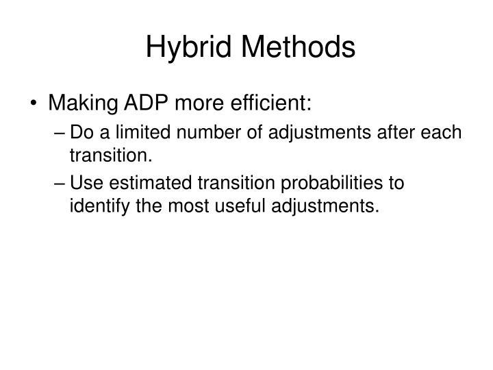 Hybrid Methods