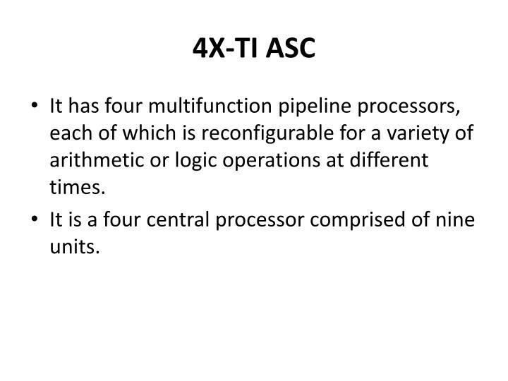 4X-TI ASC