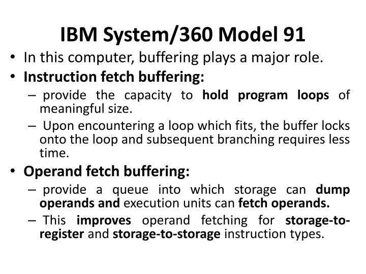 IBM System/360 Model 91