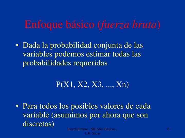 Enfoque básico (