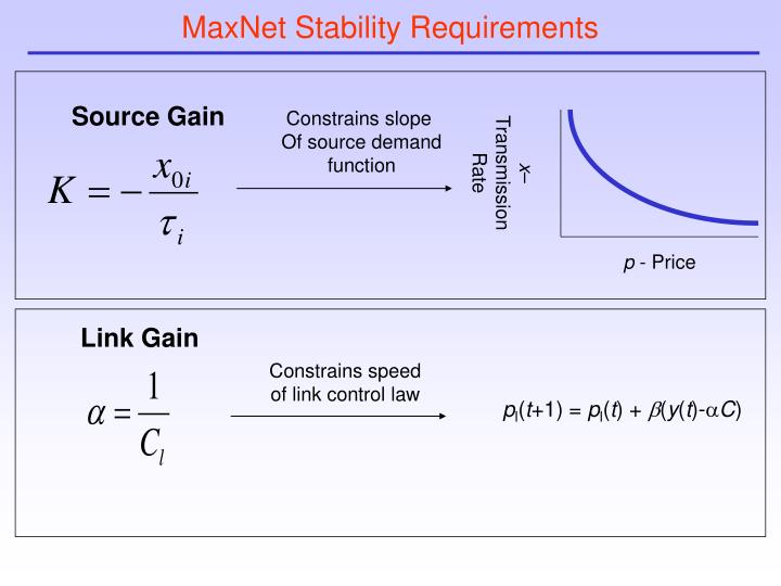 MaxNet Stability Requirements