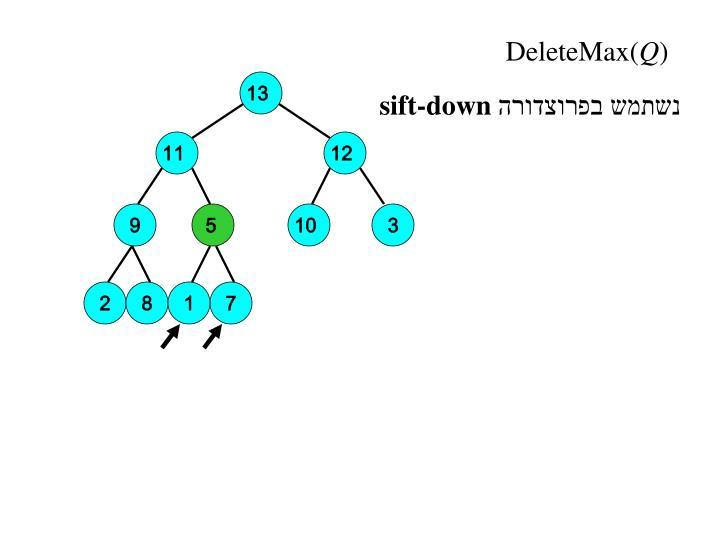DeleteMax(