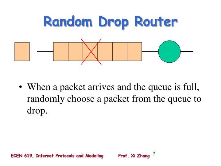 Random Drop Router