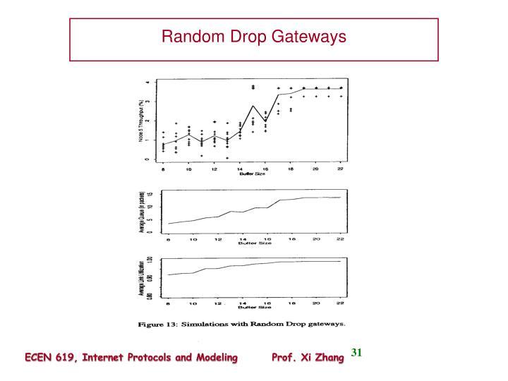 Random Drop Gateways