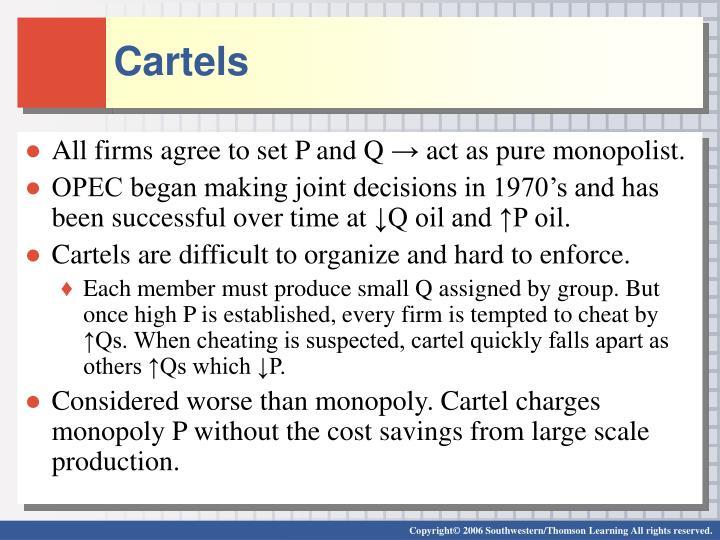 Cartels