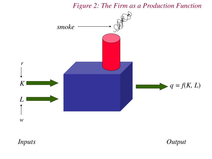 Figure 2: The Firm as a Production Function
