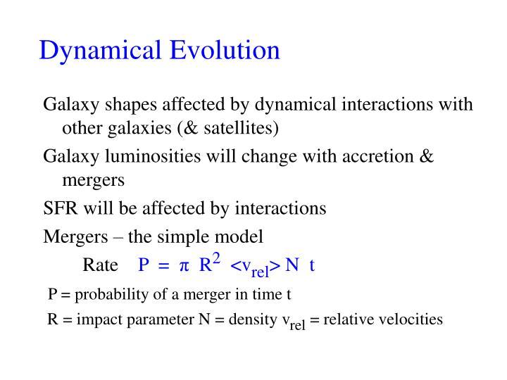 Dynamical Evolution