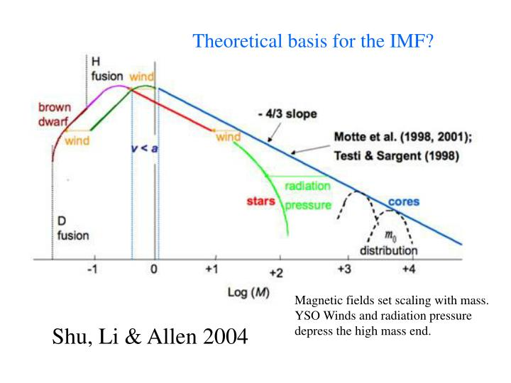 Theoretical basis for the IMF?