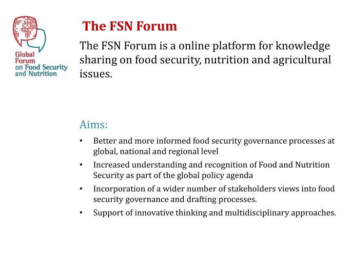 The FSN Forum