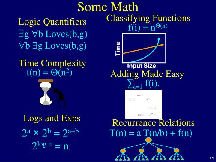 Logic Quantifiers
