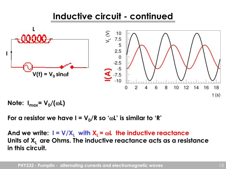 Inductive circuit - continued