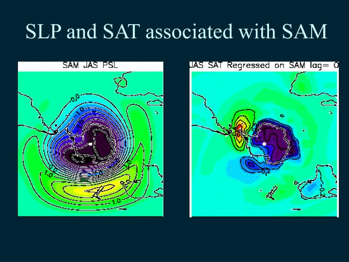 SLP and SAT associated with SAM