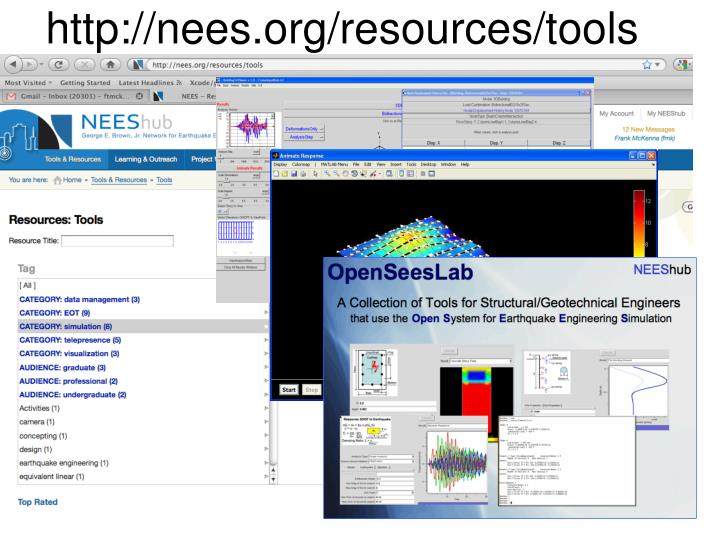 http://nees.org/resources/tools