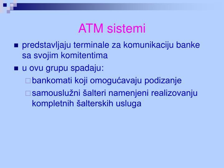 ATM sistemi