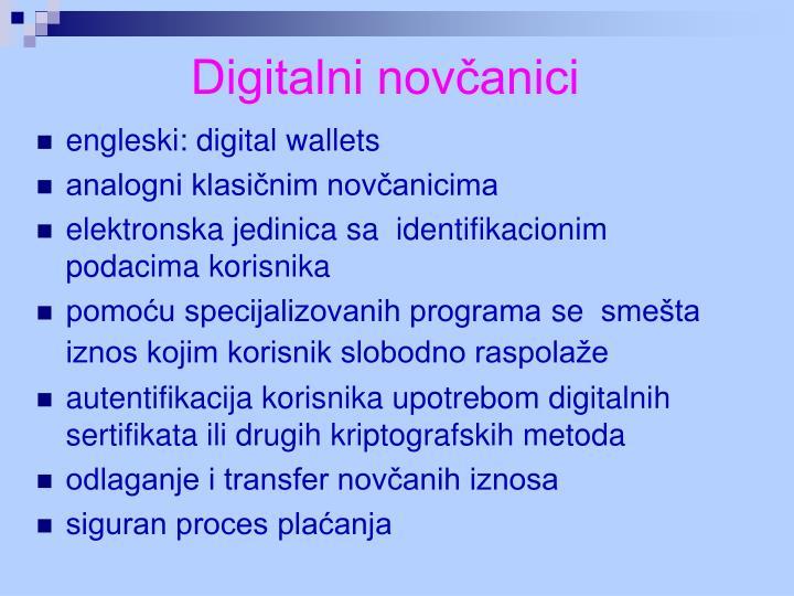 Digitalni novčanici