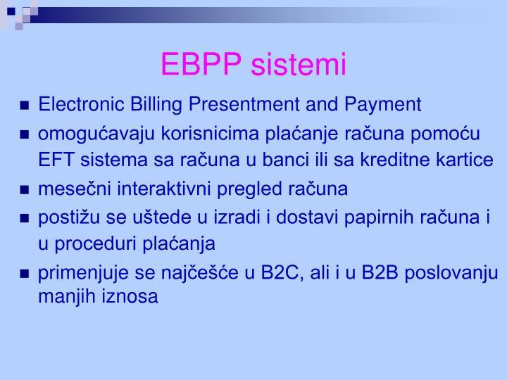 EBPP sistemi