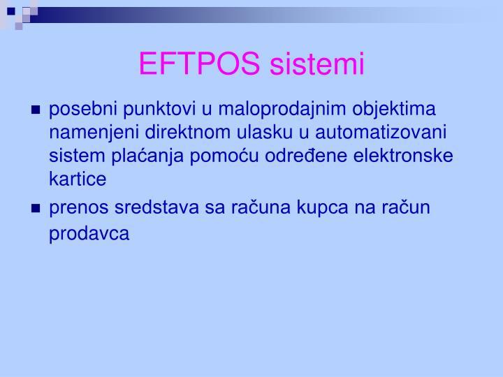 EFTPOS sistemi