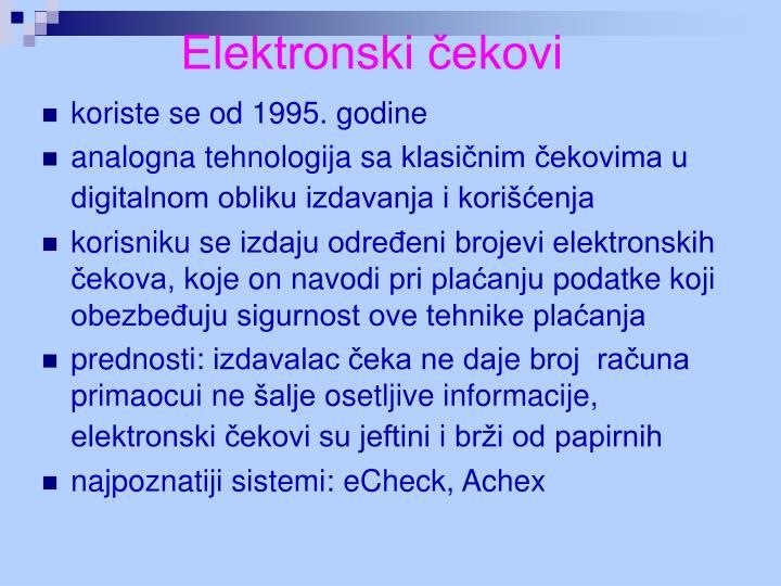 Elektronski čekovi
