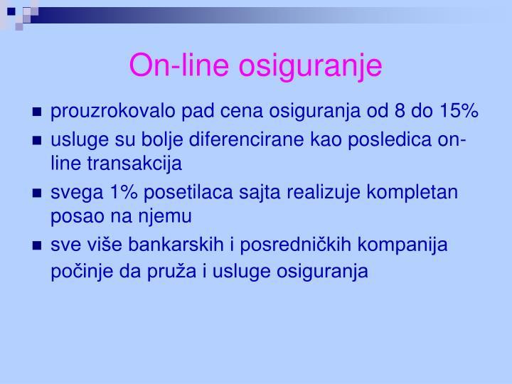 On-line osiguranje